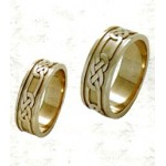 Murphy Love Knot Wedding Band: 14k