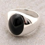 Mens Onyx Ring MS 2