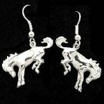 Bucking Horse earrings
